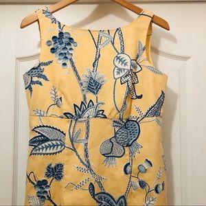 Ultra Dress Floral Paisley Sleeveless Size 8